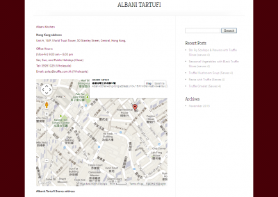albani - Google Map